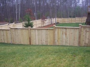 Wood Fencing Myrtle Beach