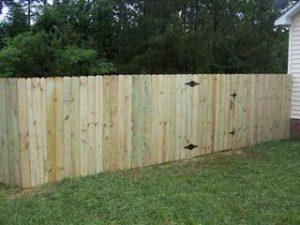 Wood Fence Hampstead NC